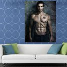 Stephen Amell Shirtless Arrow TV Show Actor HUGE 48x36 Print POSTER