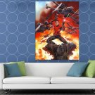 Emperor S Royal Imperial Guard X Wing Retro Star Wars HUGE 48x36 Print POSTER
