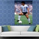 Diego Maradona Argentina Legend Soccer Football HUGE 48x36 Print POSTER