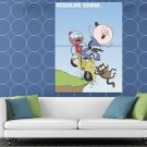 The Regular Show Characters Cool Funny Cartoon TV Art HUGE 48x36 Print POSTER