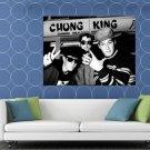Beastie Boys Vintage Retro BW Rap Band Hip Hop Music HUGE 48x36 Print POSTER