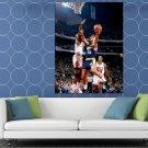 Sarunas Marciulionis Golden State Warriors Retro Sport HUGE 48x36 Print POSTER
