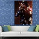 Freddie Mercury Live Concert 1978 Queen Rock Retro HUGE 48x36 Print POSTER