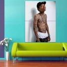 Wiz Khalifa Rapper 47x35 Print Poster