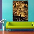 Troy Movie Brad Pitt Eric Bana 47x35 Print Poster