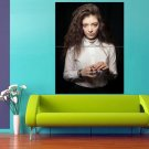 Lorde Singer Art Pop Music 47x35 Print Poster