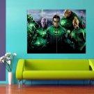 Green Lantern Superhero Movie Ryan Reynolds 47x35 Print Poster
