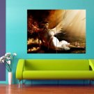 Amazing Angel Wings Light 47x35 Print Poster