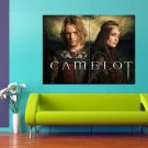 Camelot TV Series Eva Green Jamie Campbell Bower 47x35 Print Poster