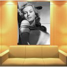 Anita Ekberg Actress La Dolce Vita Sex Symbol 47x35 Print Poster
