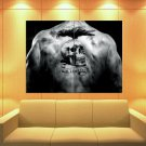 The Expendables Back Tattoo Skull Raven 47x35 Print Poster