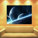 Planets Space Universe 47x35 Print Poster