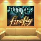 Firefly Western Drama TV Series 47x35 Print Poster