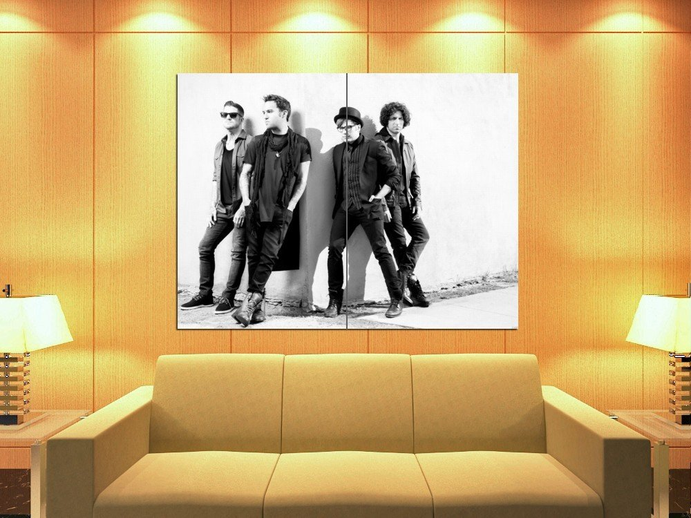 Fall Out Boy Rock Band Pop Punk Music 47x35 Print Poster
