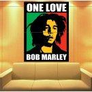 Bob Marley One Love Painting Reggae Music Art Huge Giant Print Poster