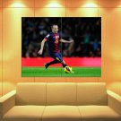 Andres Iniesta Barcelona Spain Football Soccer Sport Huge Giant Print Poster