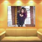 Selena Gomez Beautiful Hair Pop Music Singer Huge Giant Print Poster