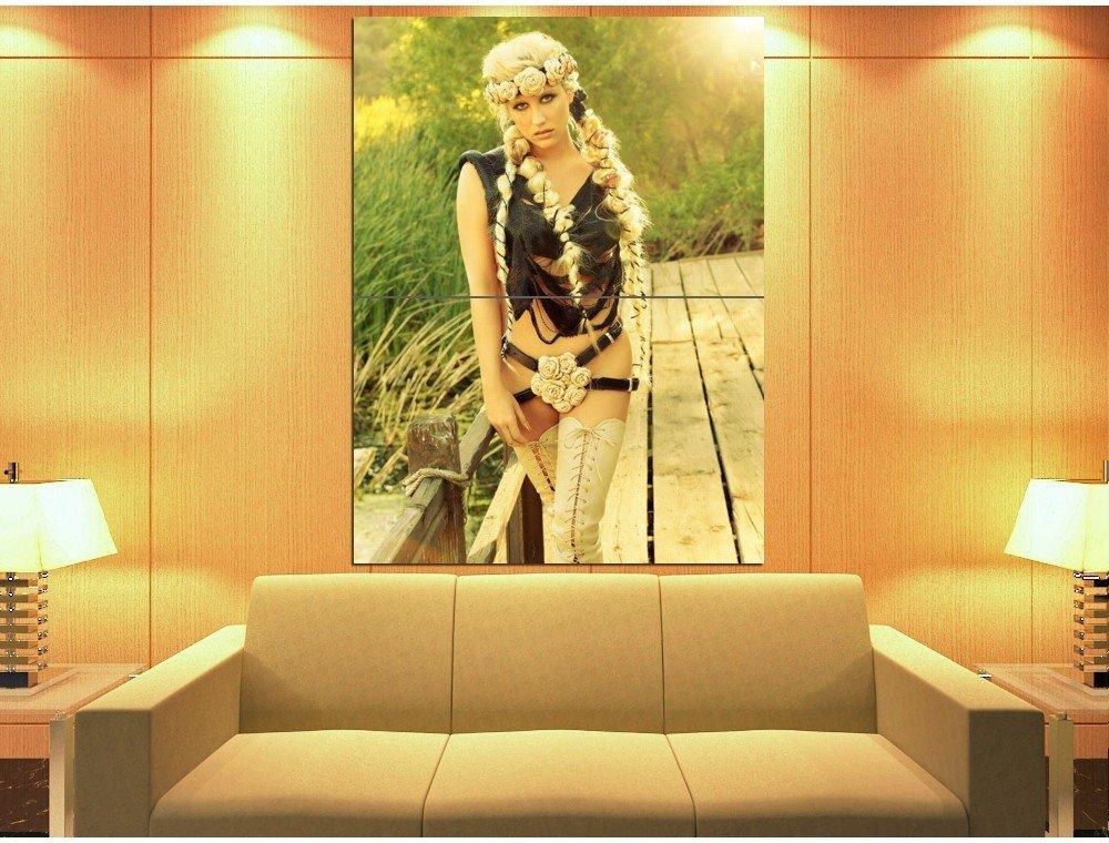 Kesha Hot Pop Music Singer Rare Huge Giant Print Poster