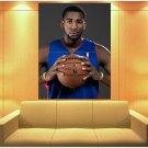 Andre Drummond Detroit Pistons Basketball Sport Huge Giant Print Poster