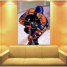 Wayne Gretzky Edmonton Oilers Painting Art Hockey Huge Giant Print Poster