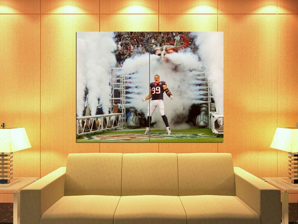 Justin James Watt Houston Texans Football Sport Huge Giant Print Poster