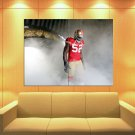 Patrick Willis San Francisco 49ers Football Sport Huge Giant Print Poster