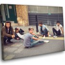 One Direction Pop Band Music 30x20 Framed Canvas Print