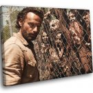 The Walking Dead Andrew Lincoln TV Series 30x20 Framed Canvas Print