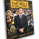 The Wolf Of Street Movie Leonardo DiCaprio 30x20 Framed Canvas Print