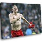 Bastian Schweinsteiger Bayern Munich Football Soccer 30x20 Framed Canvas Print