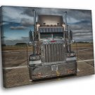 Peterbilt Truck Trailer Car Chrome Awesome 30x20 Framed Canvas Print