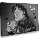 Tyrion Lannister Painting Dwarf Game Of Thrones 30x20 Framed Canvas Print