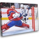Carey Price Montreal Canadiens Goaltender Hockey 30x20 Framed Canvas Print