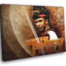 Buster Posey San Francisco Giants Painting Baseball 30x20 Framed Canvas Print