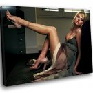 Charlize Theron Hot Actress Sexy Legs 30x20 Framed Canvas Art Print