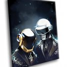 Daft Punk Electronic Music Duo 30x20 Framed Canvas Art Print