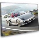 Porsche Boxster Roadster Sport Car 30x20 Framed Canvas Art Print