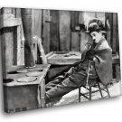 Chalie Chaplin The Gold Rush Silent Movie 30x20 Framed Canvas Art Print
