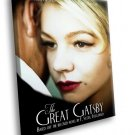 The Great Gatsby Movie Drama Leonardo DiCaprio 30x20 Framed Canvas Art Print
