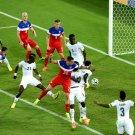 Clint Dempsey Captain Header Goal USA Soccer Football 32x24 Wall Print POSTER