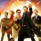 The World S End 2013 Movie Simon Pegg Nick Frost 32x24 Wall Print POSTER