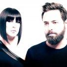Phantogram Electronic Rock Duo Group Music 32x24 Wall Print POSTER