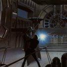 Darth Vader Vs Luke Skywalker Fight Vintage Star Wars 32x24 Wall Print POSTER