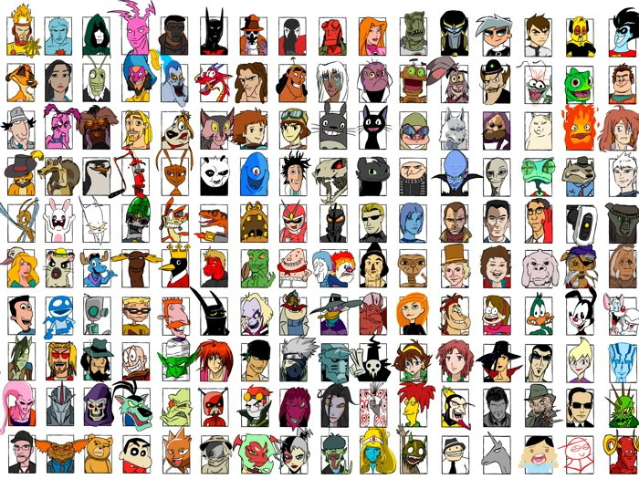 Movie Video Game Comics Characters Amazing Art Part 3 32x24 Wall Print POSTER