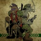 Bebop And Rocksteady TMNT Teenage Mutant Ninja Turtles 32x24 Wall Print POSTER