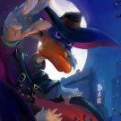 Darkwing Duck Superhero Dark Cool Awesome Art 32x24 Wall Print POSTER