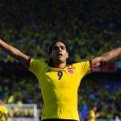 Radamel Falcao El Tigre Colombia AS Monaco Football 32x24 Print Poster