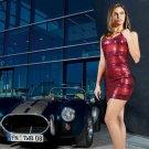 Silvia Hauten Cobra Hot Sexy Babe Woman Car 32x24 Print Poster