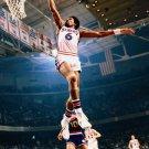 Julius Erving Slam Dunk Sixers Philadelphia 76ers 32x24 Print Poster
