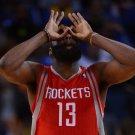 James Harden Houston Rockets Beard Sport 32x24 Print Poster